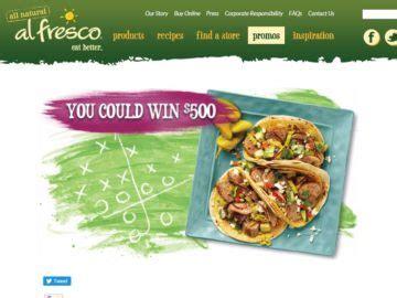Recipe Sweepstakes - the al fresco appetizer blitz game day recipe sweepstakes