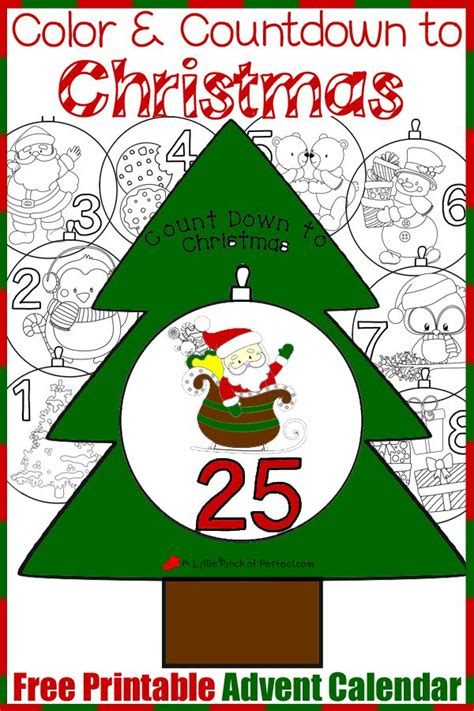 printable advent calendar pdf free printable advent calendar color and countdown to