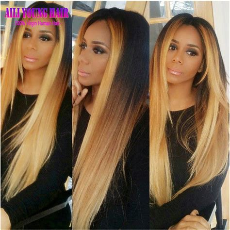 27 hairstyles for long dark hair long hairstyles 2016 2017 straight hair 1b 4 27 ombre lace front human hair wigs