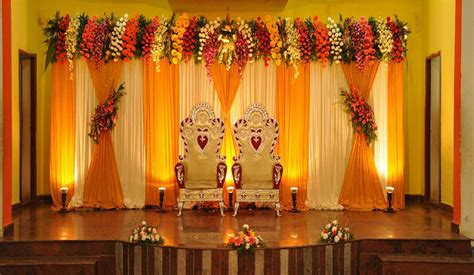 Wedding Flower Decoration Pictures by Simple Flower Decoration For Wedding Stage Www Pixshark