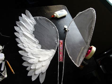 How To Make Paper Wings For A Costume - wings project 183 a wing 183 home diy on cut out