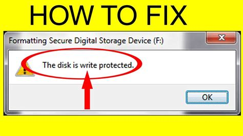 format dvd write protected 30 47 mb top 3 ways to fix remove write protection from