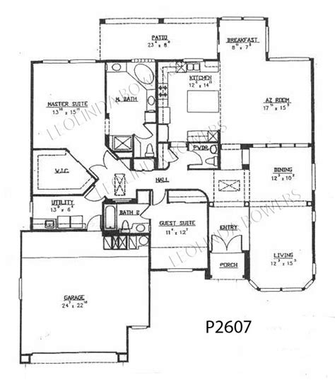 sun city west floor plans sun city west cottonwood floor plan