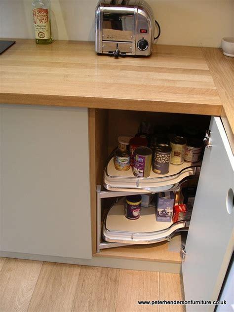 kitchen cabinets corner units oak and french grey kitchen bespoke design by peter
