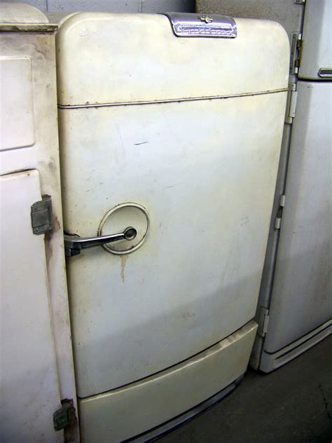 unrestored antique refrigerators 1950 coldspot