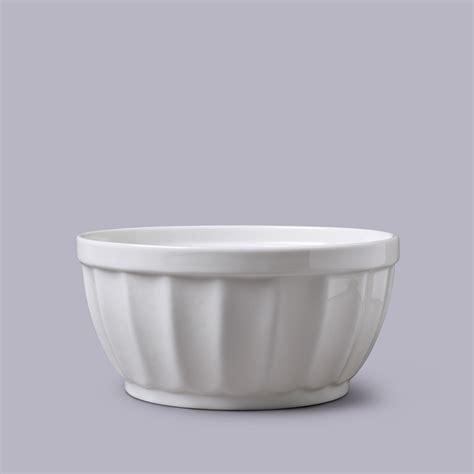 wm bartleet sons porcelain fluted pudding bowl