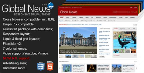 themes drupal nulled free download nulled global news portal responsive