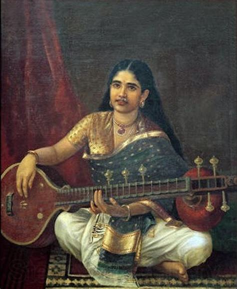 biography of artist raja ravi verma woman with veena raja ravi varma malmo sweden oil painting