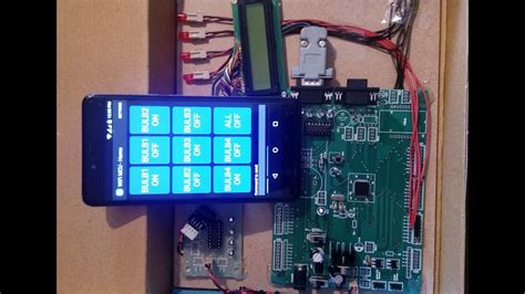 arm7 lp2148 and android based smart home automation using