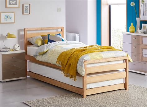 guest bed uk woodstock wooden bed frame guest bed dreams
