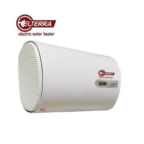 Elterra He 30 Et Water Heater Slim Hemat Listrik Cepat Panas elterra he 50 et electric water heater slim
