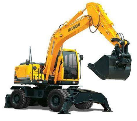wheel excavators robex   view specifications details  wheeled excavator  hyundai