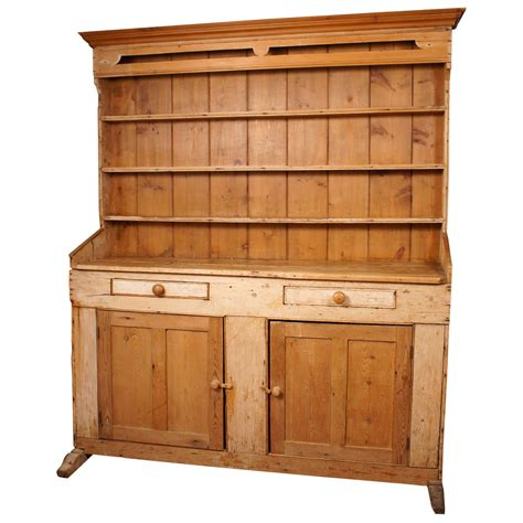 pine dresser and hutch 19th century pine welsh dresser or hutch at 1stdibs