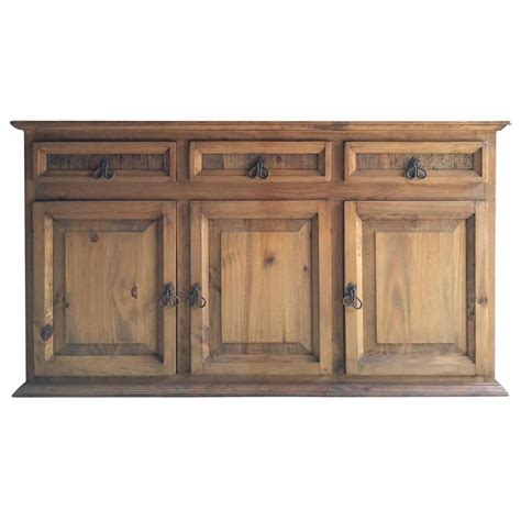 Pine Credenza reclaimed solid pine dresser sideboard buffet credenza rustic charm at 1stdibs