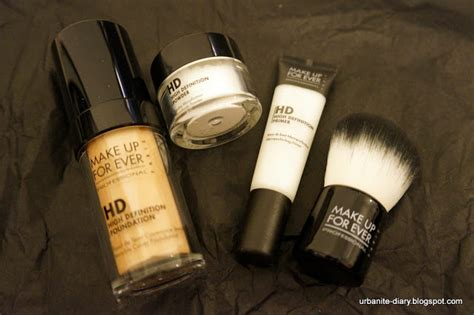 Makeup Forever Hd Foundation Malaysia make up for hd complexion starter kit 2