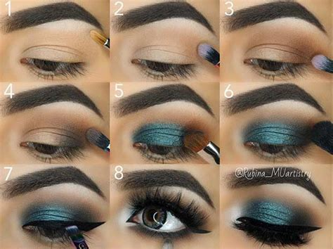 easy step  step makeup tutorials  instagram
