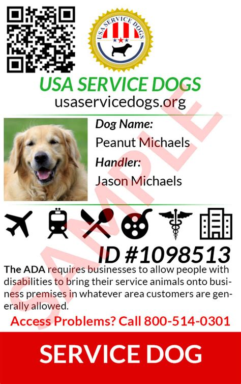 ada service registration usa service dogs registry register your service today for free