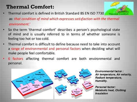 iso 7730 thermal comfort lecture 7 hazard of temperature extreme