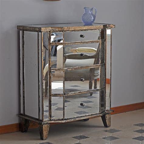 Commode En Verre Miroir by Commode Miroir Bois C 244 T 233 Table