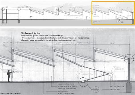 shooting range plans indoor shooting range drawings free work lewisville firing range matt fajkus architecture