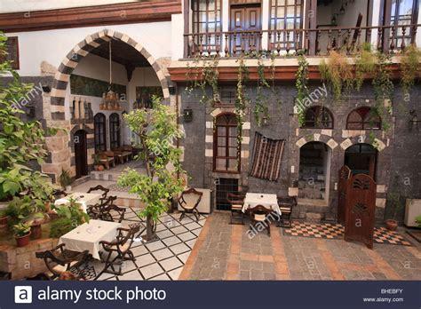 old damascus syria syria damascus old town traditional damascene house