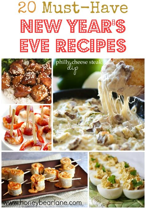 new years recipes 20 must new year s recipes honeybear