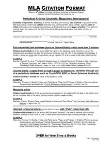 mla citation template image gallery mla citing
