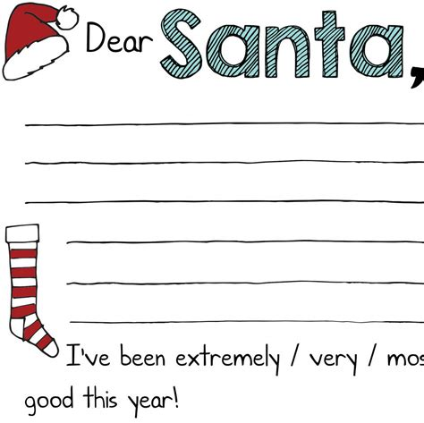 printable dear santa letters free christmas printables quot dear santa quot letters mama geek