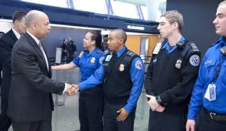 Transportation Security Officer by Jeh Johnson Meets With Transportation Security Officers At Dulles Airport Homeland