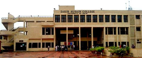 Delhi School Of Economics Mba Admission by Zakir Husain College New Delhi Courses Fees 2017 2018