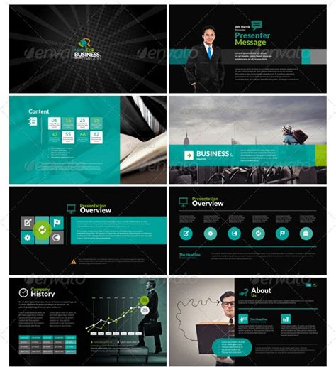 templates powerpoint pinterest bunch of really professional and sleek ppt designs