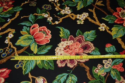 asian inspired upholstery fabric asian floral branch japanese inspired ottoman upholstery