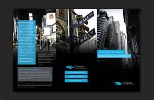 free modern tri fold brochure design template