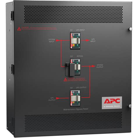 Panel Ups apc smart ups vt maintenance bypass panel sbpsu10k30fc1m1