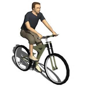 Bicycle Desk Bike Riders Set A 3d Model Formfonts 3d Models Amp Textures
