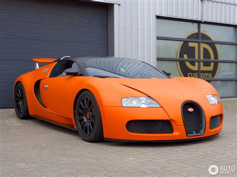 black and orange bugatti bugatti veyron is orange for king s day