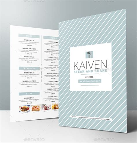 14 Modern Catering Menu Designs Templates Psd Ai Free Premium Templates Minimal Menu Template