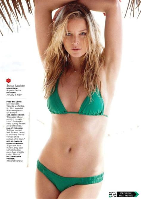 paige nichols rachel nichols maxim magazine august 2011 issue 08 jpg