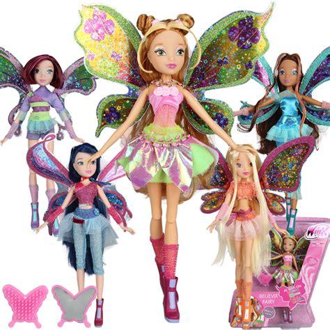 doll wings big 28cm high winx club doll rainbow colorful
