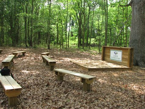 school outdoor seating york conservation district