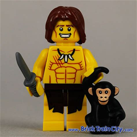 Series 7 10 Jungle Boy jungle boy 8831 lego minifigures series 7 review
