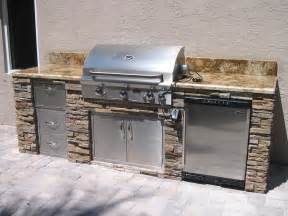 Outdoor Kitchen Islands New Custom Outdoor Kitchens In Florida Gas Grills Parts