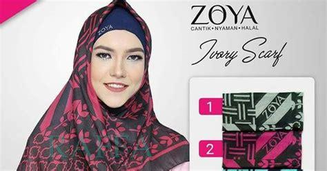 Jilbab Segi Empat Hello Kerudung Zoya Segi Empat Terbaru