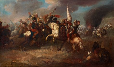 Habsburg Ottoman Wars Cavalry Battle Between Habsburg Austrians And Ottoman Turks Ottoman Habsburg War