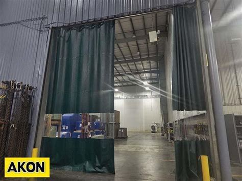 warehouse divider curtains warehouse curtain divider akon curtain and dividers