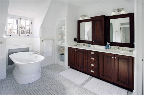 Bathroom Floor And Shower Tile Ideas by Bathroom Tile Ideas Houzz Clever Design Guest Bathroom