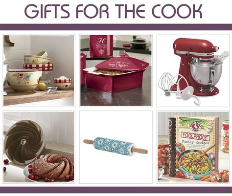 gift ideas for cooks great gift ideas for her