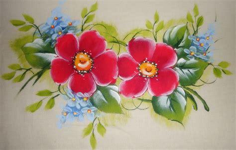 imagenes flores simples pintura em tecido como fazer passo a passo riscos e