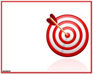 Free Bullseye PowerPoint Templates