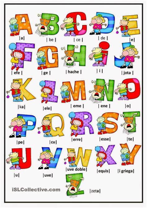 como se pronuncia layout en español el abecedario en ingles con sus im 225 genes para imprimir